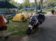 Paul and Dan's camp