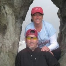 Tad Haas and Gaila Gutierrez