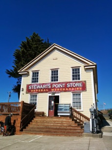The Coast Crew at Stewart's Point Store
