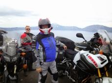 Dan and Paul at Crater Lake